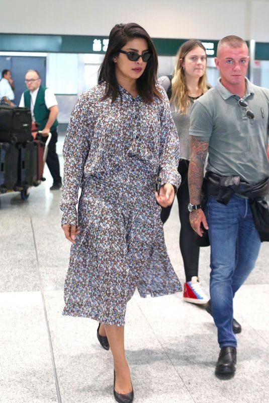 PRIYANKA CHOPRA Arrives at Airport in Milan 09/18/2019