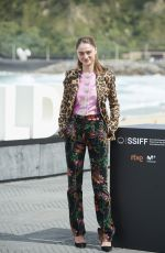 RAFFEY CASSIDY at The Other Lamb Photocall at 67th San Sebastian Film Festival 09/23/2019