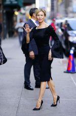 RENEE ZELLWEGER Arrives at Stephen Colbert Show in New York 09/25/2019
