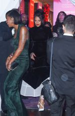 RIHANNA Arrives at 5th Annual Diamond Ball at Cipriani Wall Street in New York 09/12/2019