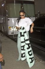 RIHANNA Out and About in New York 09/12/2019