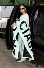RIHANNA Out in New York 09/12/2019
