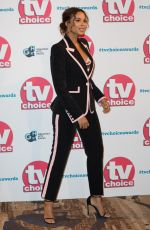 ROCHELLE HUMES at TV Choice Awards 2019 in London 09/09/2019