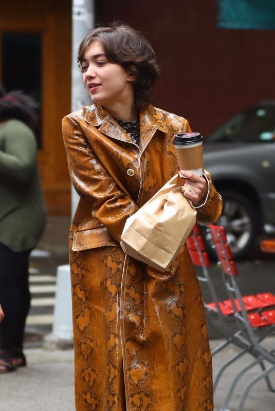 ROWAN BLANCHARD Out for Coffee in New York 09/06/2019