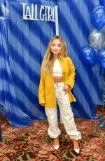 SABRINA CARPENTER at Tall Girl Photocall at Beverly Wilshire Four Seasons Hotel 08/23/2019