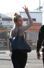 SAILOR BRINKLEY at DWTS Practice in Los Angeles 09/22/2019