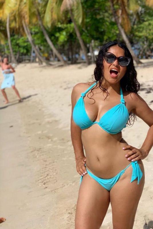 SALMA HAYEK in Bikini - Instagram Photo 09/01/2019