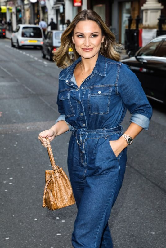 SAM FAIERS at Sure Women's Everyday Gym in London 09/11/2019