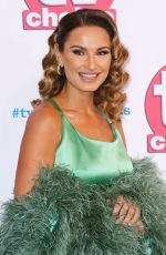 SAM FAIERS at TV Choice Awards 2019 in London 09/09/2019