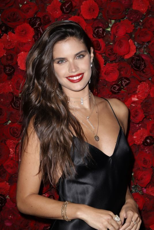 SARA SAMPAIO at Victoria's Secret Bombshell Intense Launch Party in New York 09/05/2019