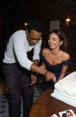 SARAH HYLAND at The Wedding Yea Premiere Party in Hollywood 09/12/2019