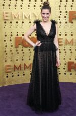 SARAH LEVY at 71st Annual Emmy Awards in Los Angeles 09/22/2019