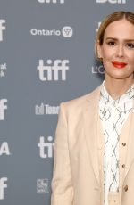 SARAH PAULSON at The Goldfinch Press Conference at 2019 TIFF 09/08/2019