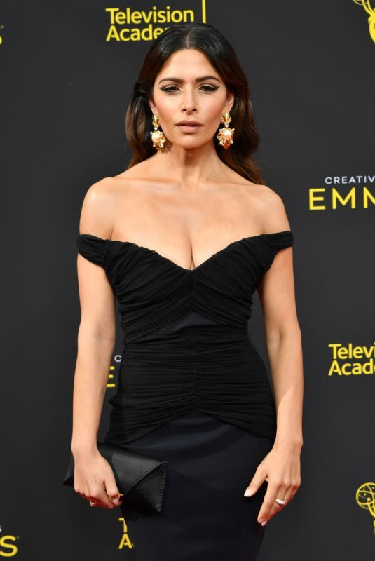 SARAH SHAHI at 71st Annual Creative Arts Emmy Awards in Los Angeles 09/2015/2019