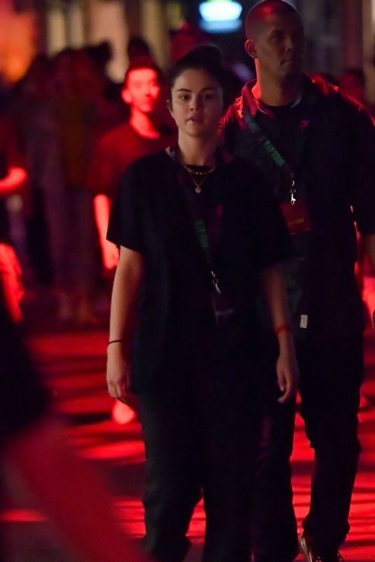 SELENA GOMEZ at Universal Halloween Horror Nights in Los Angeles 09/22/2019