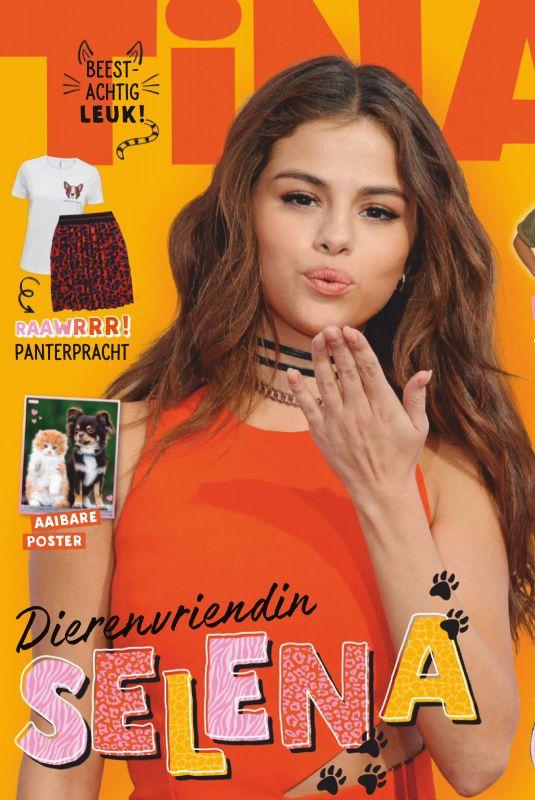 SELENA GOMEZ in Tina Magazine, Netherlands September 2019
