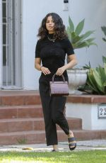 SELENA GOMEZ Leaves a Friend House in Los Angeles 09/12/2019