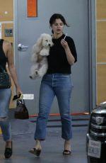SELENA GOMEZ Leaves Shark Tank Filming Studio in West Hollywood 09/23/2019