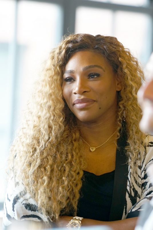 SERENA WILLIAMS at Real Talk with Two Female Champions Inspiring the Next Generation in New York 09/09/2019