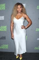 SERENA WILLIAMS at The Game Changers Premiere in New York 09/09/2019