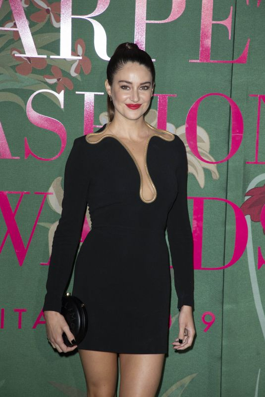 SHAILENE WOODLEY at Green Carpet Fashion Awards in Milan 09/22/2019