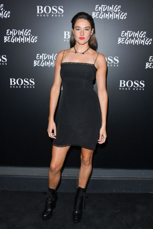 SHAILENE WOODLEY at Hugo Boss Presents Endings, Beginnings Cocktail Party in Toronto 09/08/2019