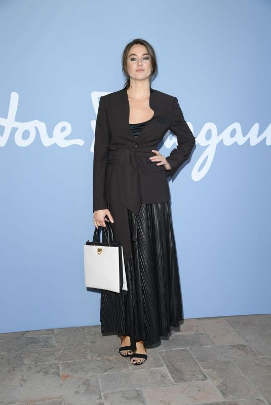 SHAILENE WOODLEY at Salvatore Ferragamo Fashion Show in Milan 09/21/2019