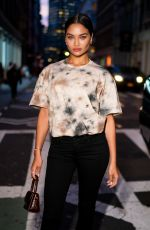 SHANINA SHAIK at Diesel x A-cold-wall Dinner in New York 09/09/2019