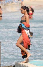 SHANINA SHAIK in Swimsuit at a Boat in Greek 09/05/2019