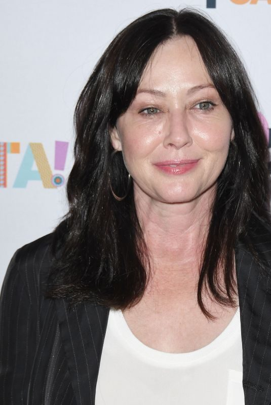 SHANNEN DOHERTY at Tex-mex Fiesta at Wallis Annenberg Center in Los Angeles 09/06/2019