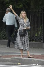 SIENNA MILLER Out in New York 09/16/2019
