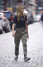 SISTINE ROSE STALLONE Out and About in New York 09/08/2019