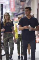 SISTINE STALLONE Out and About in New York 09/08/2019