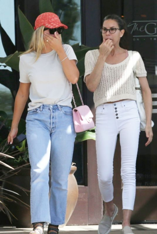 SOFIA RICHIE and Her Mother Diane Alexande Out in Westlake 09/05/2019
