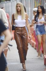 SOFIA RICHIE Arrives at Her Hotel in New York 09/09/2019
