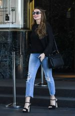 SOFIA VERGARA Leaves Sax on Fifth Ave in Los Angeles 09/18/2019