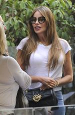 SOFIA VERGARA Out and ABout in Madrid 09/25/2019
