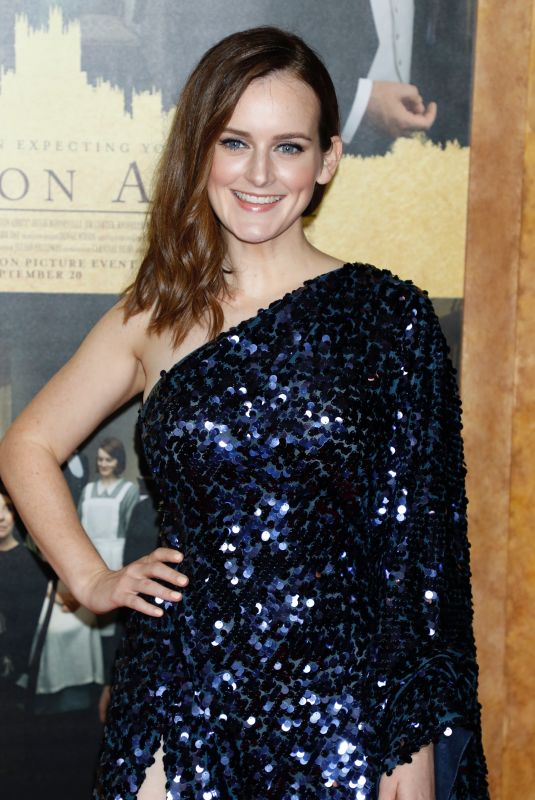 SOPHIE MCSHERA at Downton Abbey Premiere in New York 09/16/2019