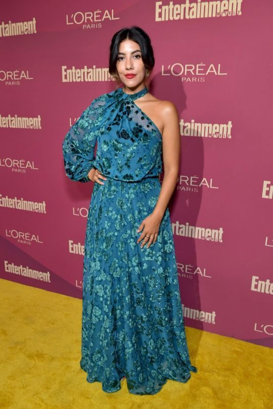 STEPHANIE BEATRIZ at 2019 Entertainment Weekly and L'Oreal Pre-emmy Party in Los Angeles 09/20/2019