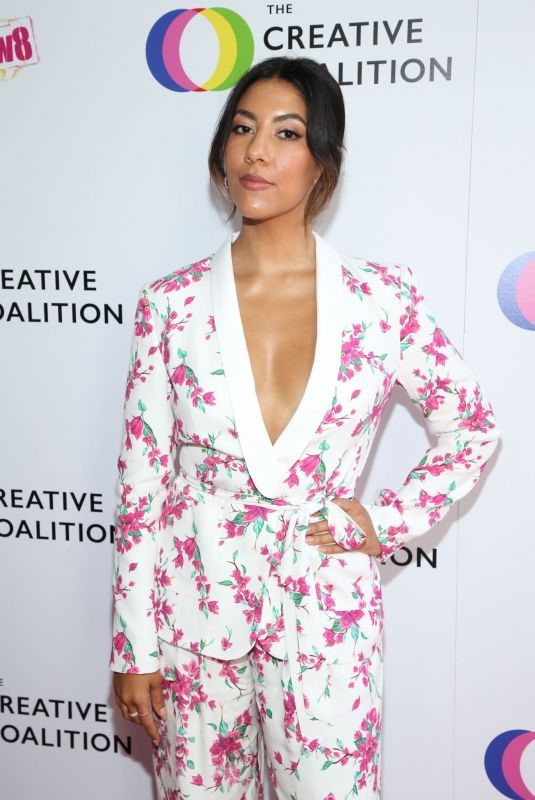 STEPHANIE BEATRIZ at Ceative Coalition's Annual Television Humanitarian Awards in Beverly Hills 09/21/2019