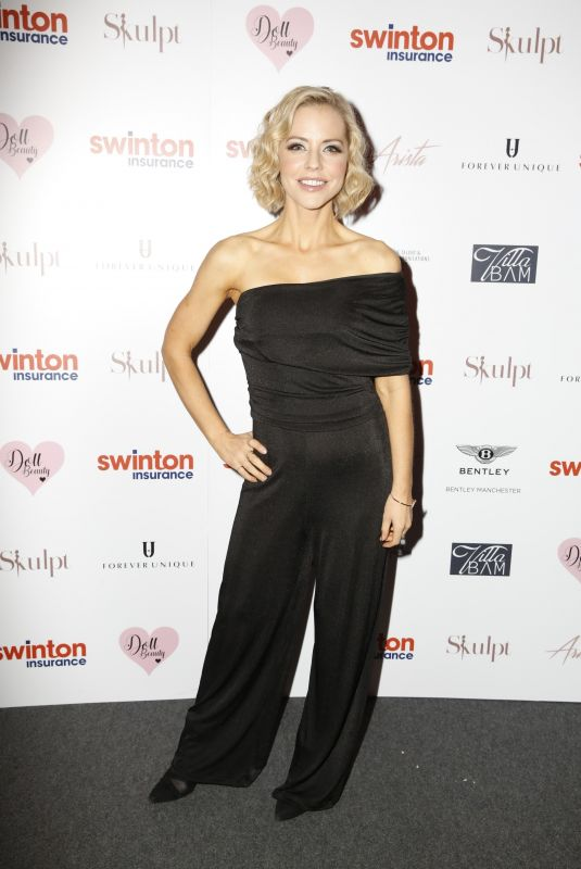 STEPHANIE WARING at Creme Charity Ball in Cheshire 09/21/2019