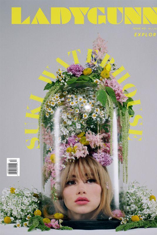 SUKI WATERHOUSE for Ladygunn Magazine, 2019