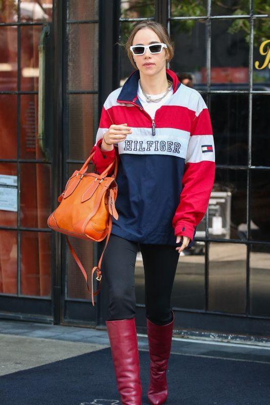 SUKI WATERHOUSE Leaves Her Hotel in New York 09/11/2019