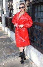 TALLIA STORM Out at London Fashion Week 09/13/2019