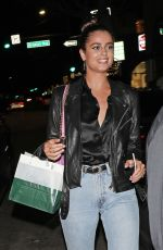 TAYLOR HILL Arrives at Madeo Restaurant in Beverly HIlls 09/26/2019
