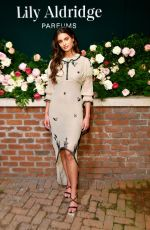 TAYLOR HILL at Lily Aldridge Haven Parfums Launch Event in New York 09/08/2019