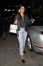 TAYLOR HILL Out for Dinner at Madeo in Beverly Hills 09/26/2019