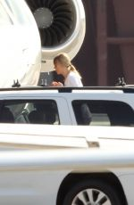 TAYLOR SWIFT Boarding Her Private Jet in Rhode Island 09/15/2019