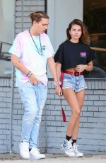 THYLANE BLONDEAU anf Milane Meritte Out Shopping in Los Angeles 09/11/2019