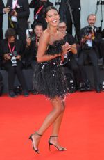 TINA KUNAKEY at An Officer and a Spy Premiere at 76th Venice Film Festival 08/30/2019